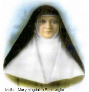 Illustration of Mother Magdalen Bentevoglio